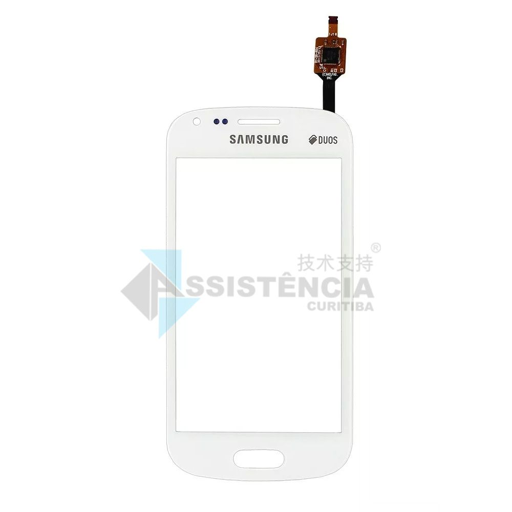 Tela Touch Samsung Galaxy Duos 2 S7582 Gt S7560 S7562 Branco