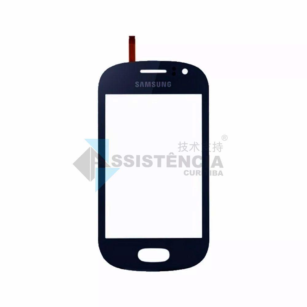 Tela Touch Samsung Galaxy Fame Duos S6810 S6812 Azul