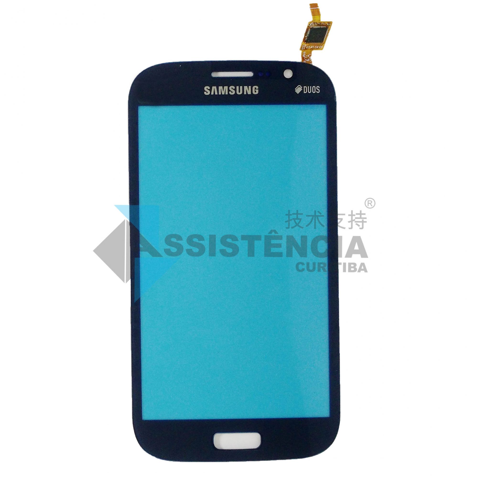 Tela Touch Samsung Galaxy Gran Neo Duos Gt-I9063T Gt-I9060 Azul