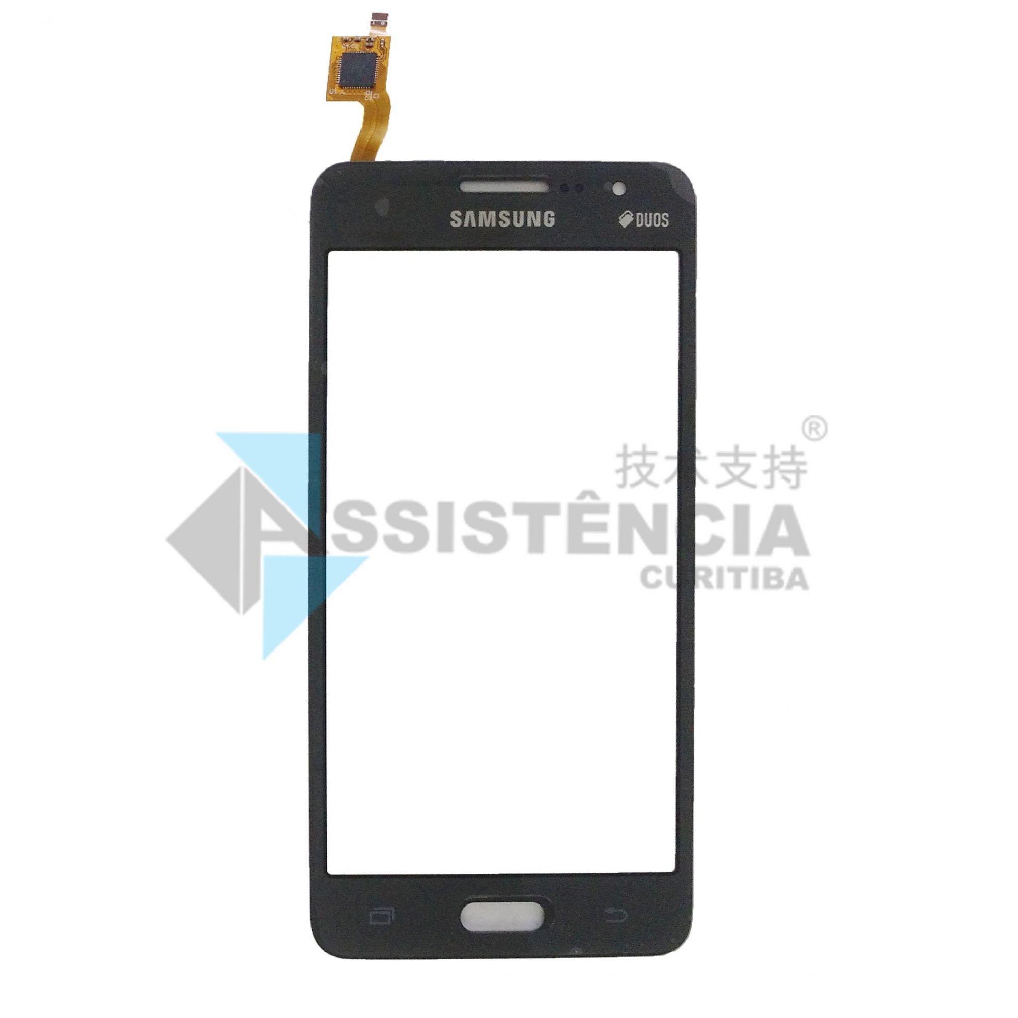 Tela Touch Samsung Galaxy Gran Prime Duos G530 G531 Grafite