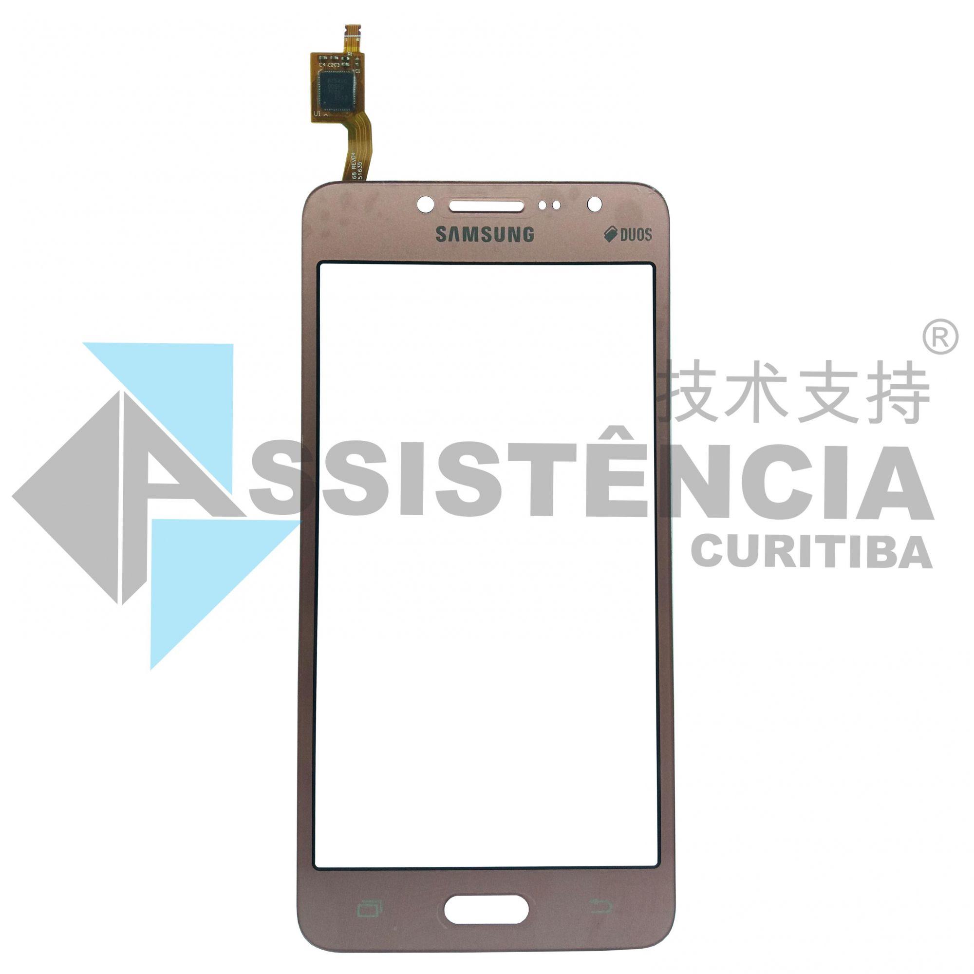 Tela Touch Samsung Galaxy J2 Prime Sm-G532 G532 Rosa