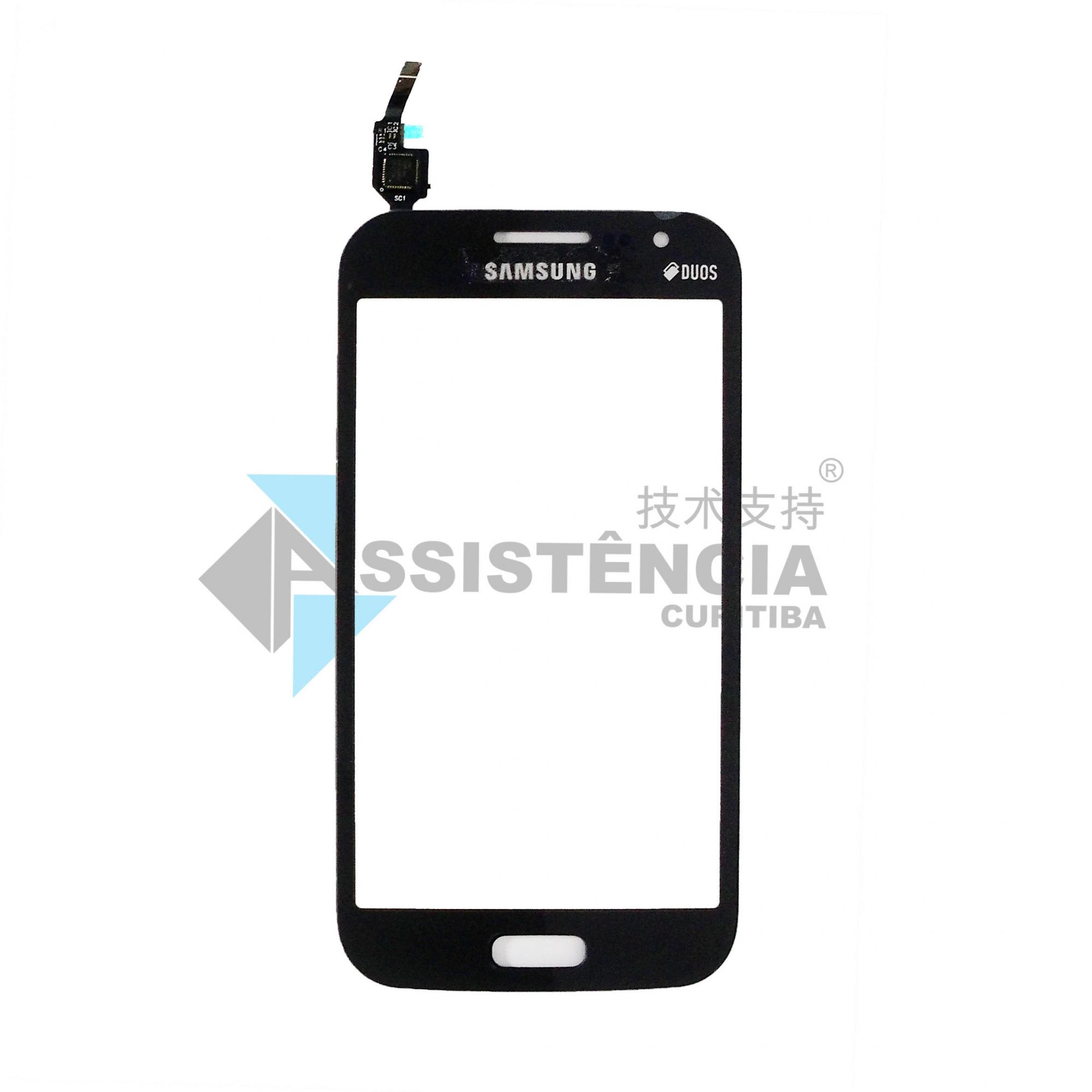 Tela Touch Samsung Galaxy Win I8552 I8552B Grafite