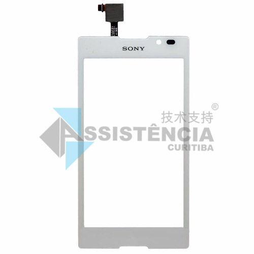 Tela Touch Sony Xperia C C2304 C2305 S39H Original Branco