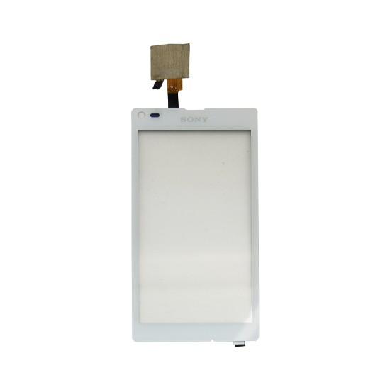 Tela Touch Sony Xperia L C2104 C2105 Original Branco