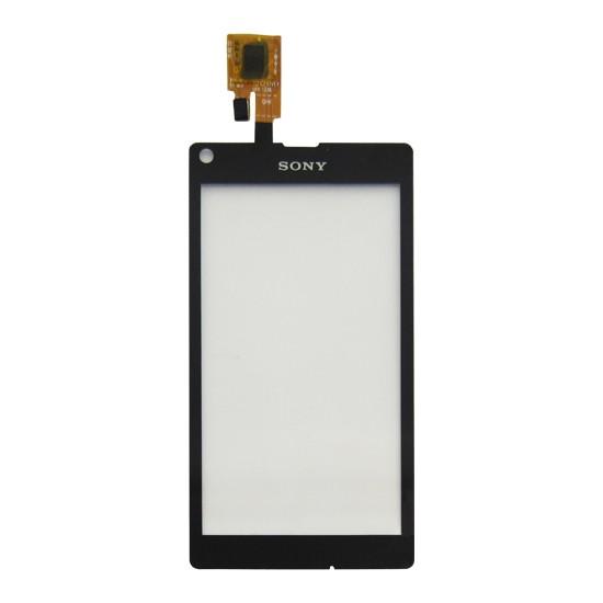 Tela Touch Sony Xperia L C2104 C2105 Original Preto