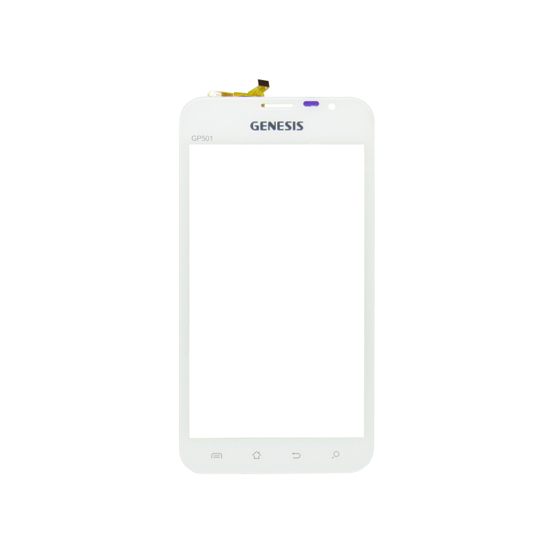 Tela Touch Genesis Gp501 Branco