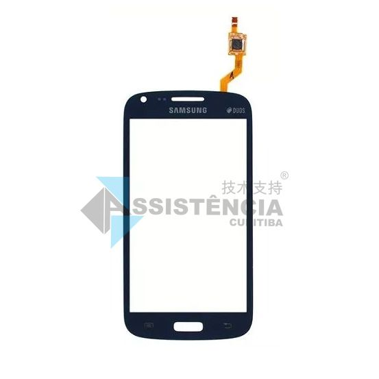 Tela Touch Samsung Galaxy S3 Duos Gt I8262B I8262 Azul