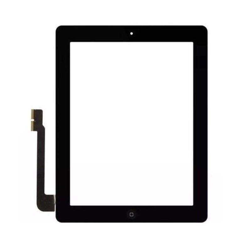 Tela Touch Apple Ipad 3 E 4 Com Botão Home Preto