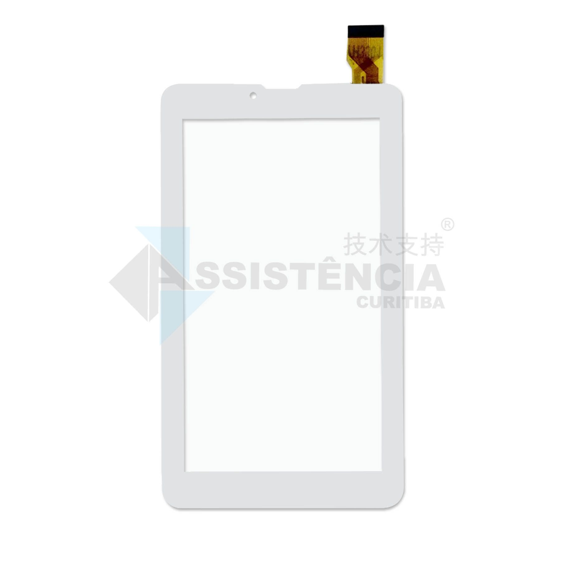 Tela Touch Dl 2803 2804 LCD130 Branco