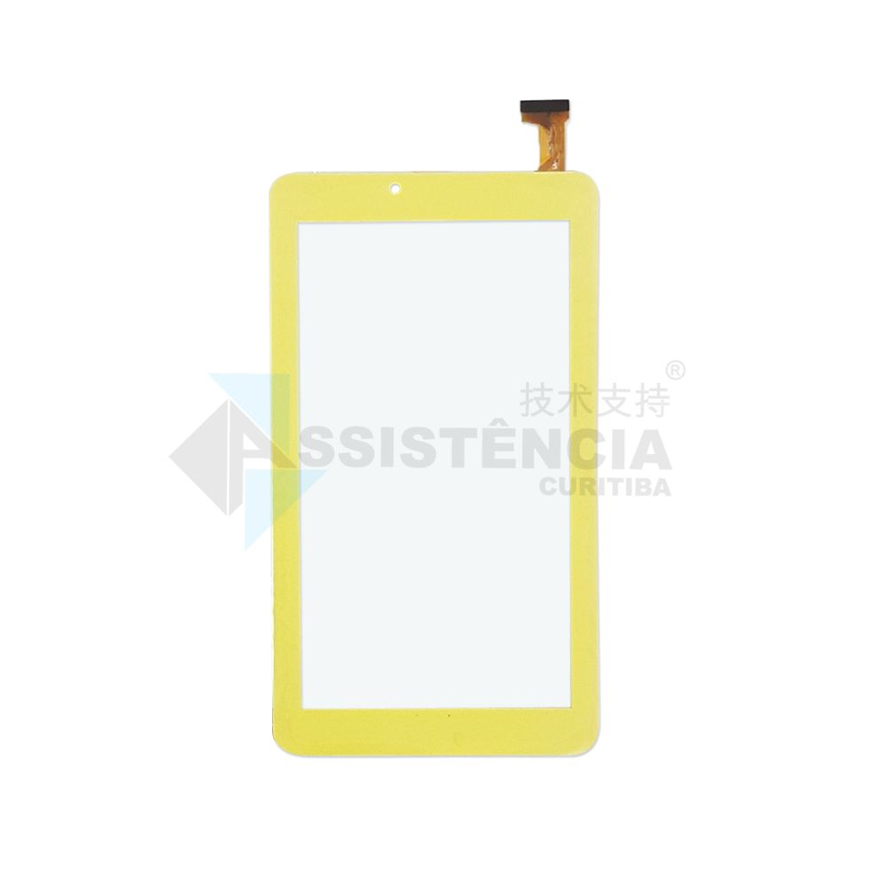 Tela Touch Dl Sabichões TX386 TX386BRA TX386BVD Amarelo