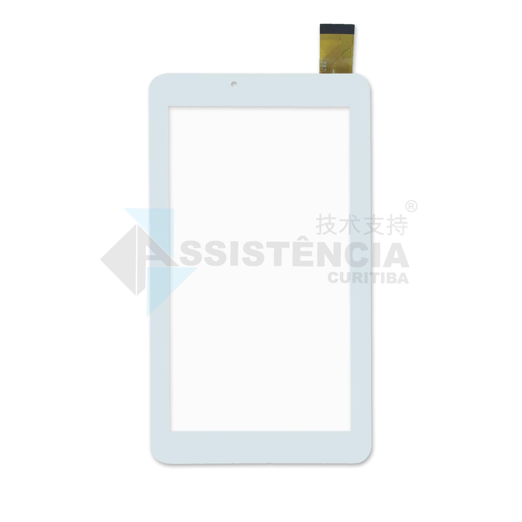 Tela Touch Dl X Quad Pro TX325 LCD139 Branco