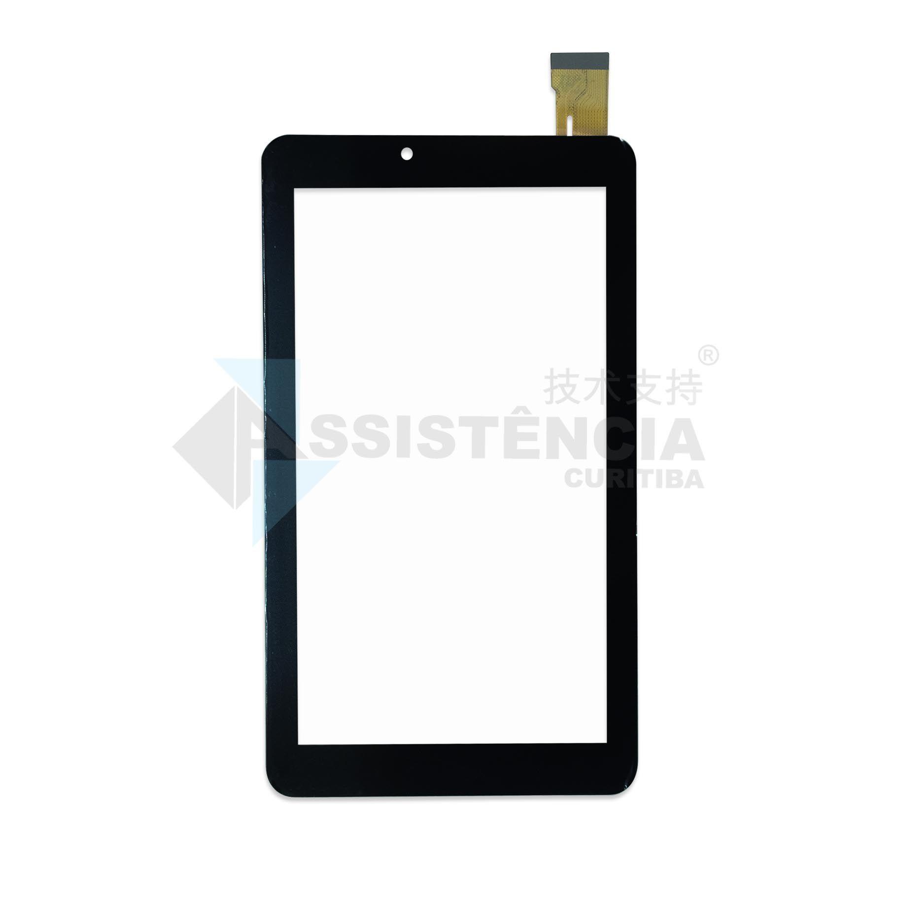 Tela Touch Dl X Quad Pro TX325 LCD139 Preto