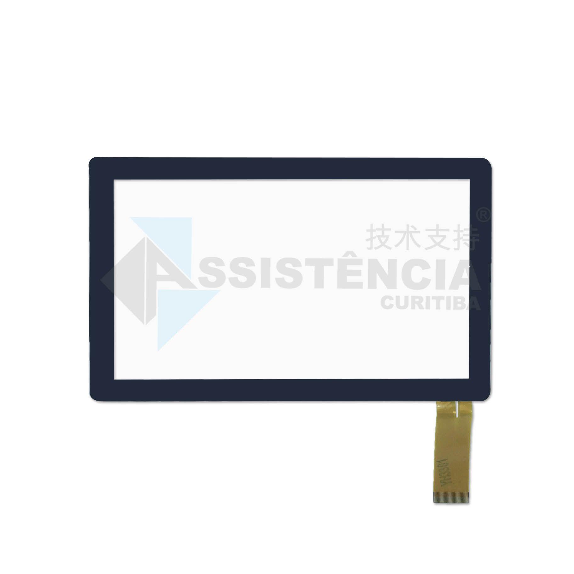 Tela Touch Dotcom CT-7000 CT-7020 Preto