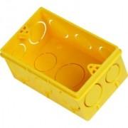 Caixa Luz 4x2 Amarela - Amanco