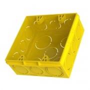Caixa Luz 4x4 Amarela - Amanco/Tigre