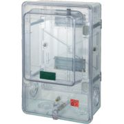 Caixa Monofásica Acrílico Transparente - Plastimax