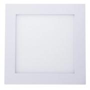 Luminária Quadrada de Embutir Led 18W/6500K Branco - Avant