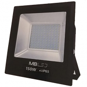 Projetor Led Smd 150w Branco - Mbled