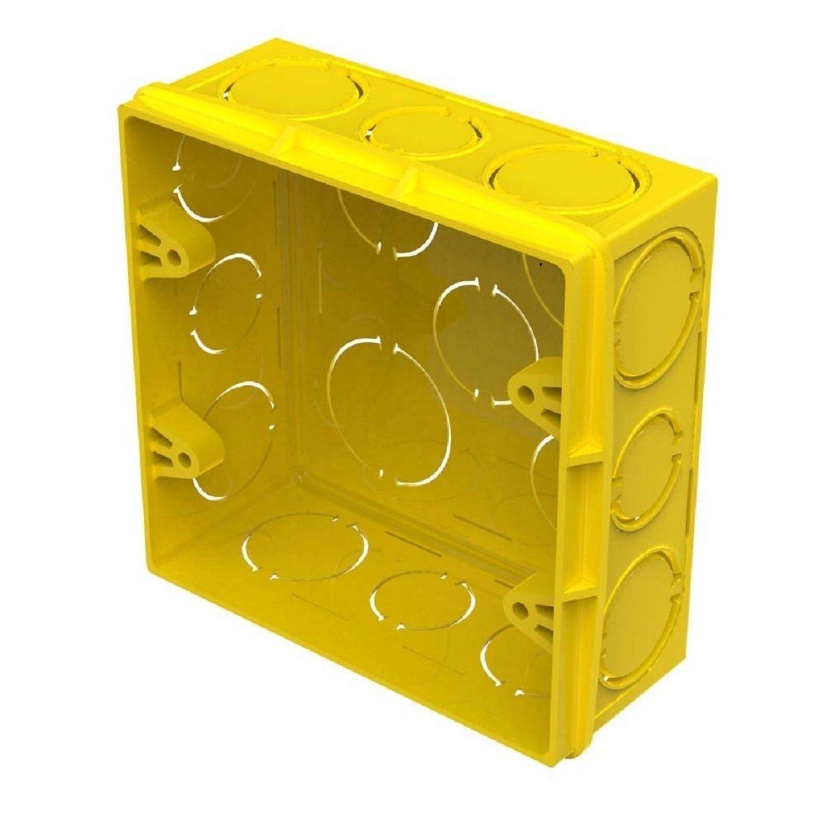 Caixa Luz 4x4 Amarela - Amanco