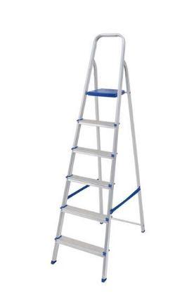 Escada Alumínio 6 Degraus - SBA