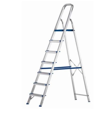 Escada Alumínio 7 Degraus - SBA