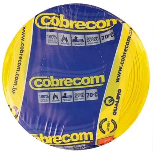 Fio Cabinho 2,5mm 750v Rolo 100m - Nambei/Corfio/Cobrecom