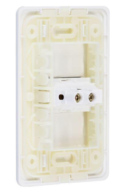 Interruptor 1 seção S19 Branco - Simon