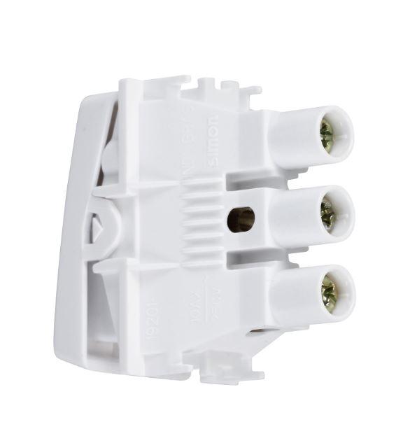 Interruptor 1 seção Triue S19 Branco - Simon