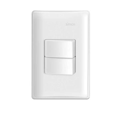 Interruptor 2 seções Triue S19 Branco - Simon