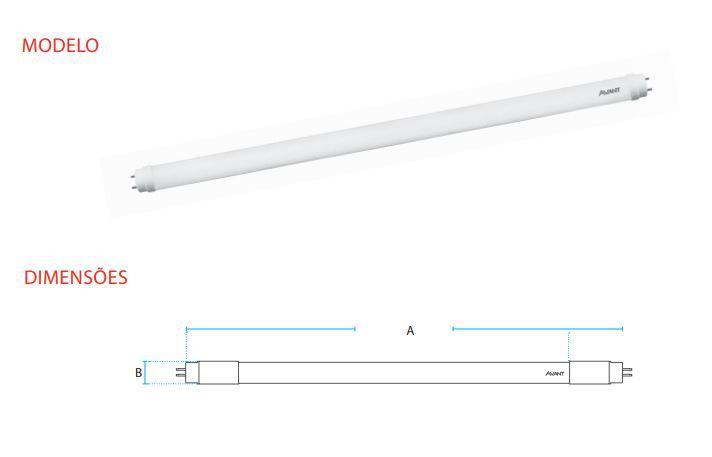 Lâmpada Tubular Led 18w/20w - Avant/Demi