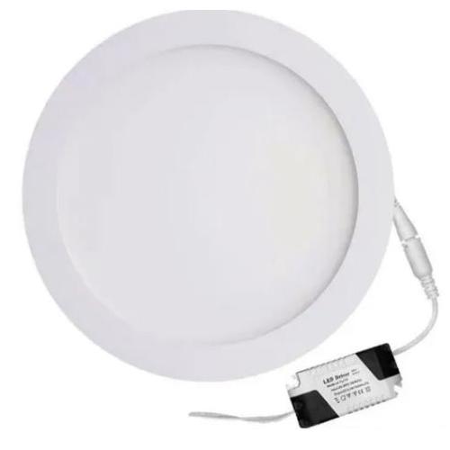 Luminária Redonda de Embutir Led 12W/6500K Branco - Avant