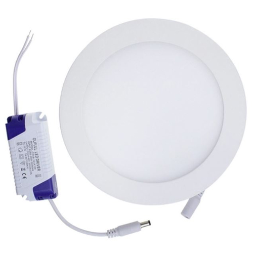 Luminária Redonda de Embutir Led 18W/6500K Branco - Demi