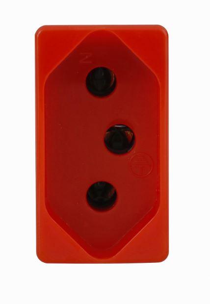 Módulo Tomada S19 20a Vermelha - Simon