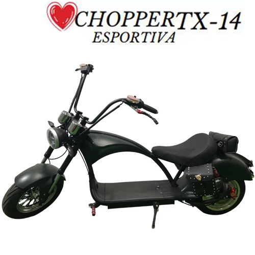 Moto Elétrica 3000W ChopperTX-14 - A Luminosa & YIWU