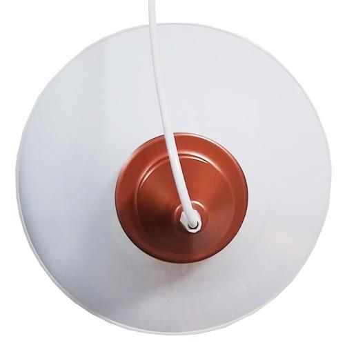Pendente Alumínio Chapéu Chinês 38cm - A Luminosa
