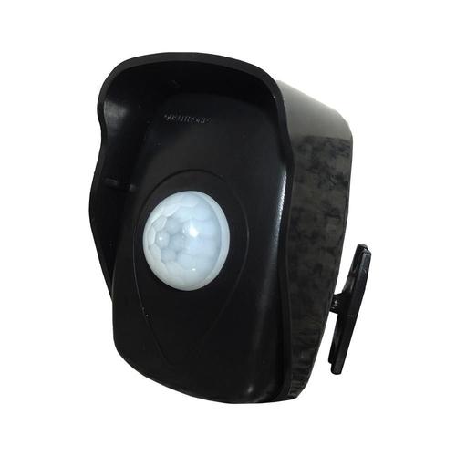 Sensor de Presença + Fotocelula 180 Preto - Qualitronix