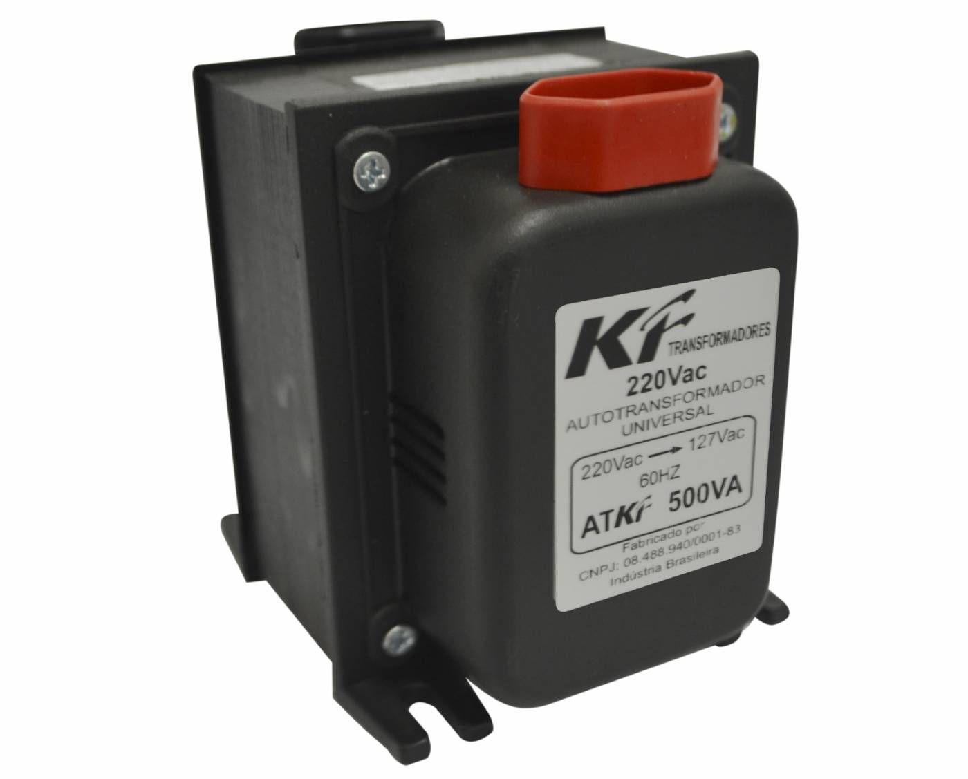 Transformador Bivolt 500VA - KF