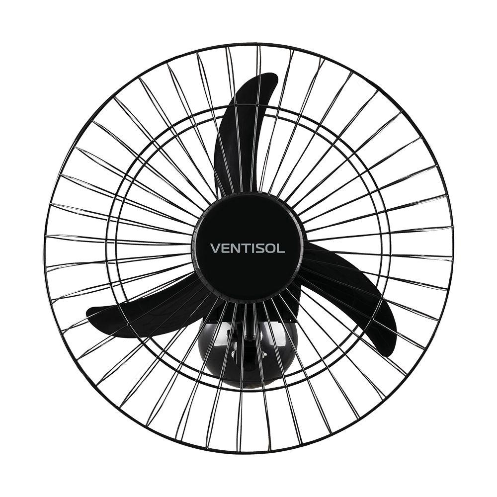Ventilador Parede 50cm Grade de Aço Bivolt - Ventisol