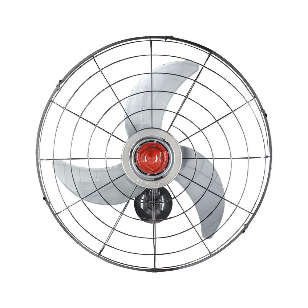 Ventilador Parede Power 70cm Bivolt - Ventisol