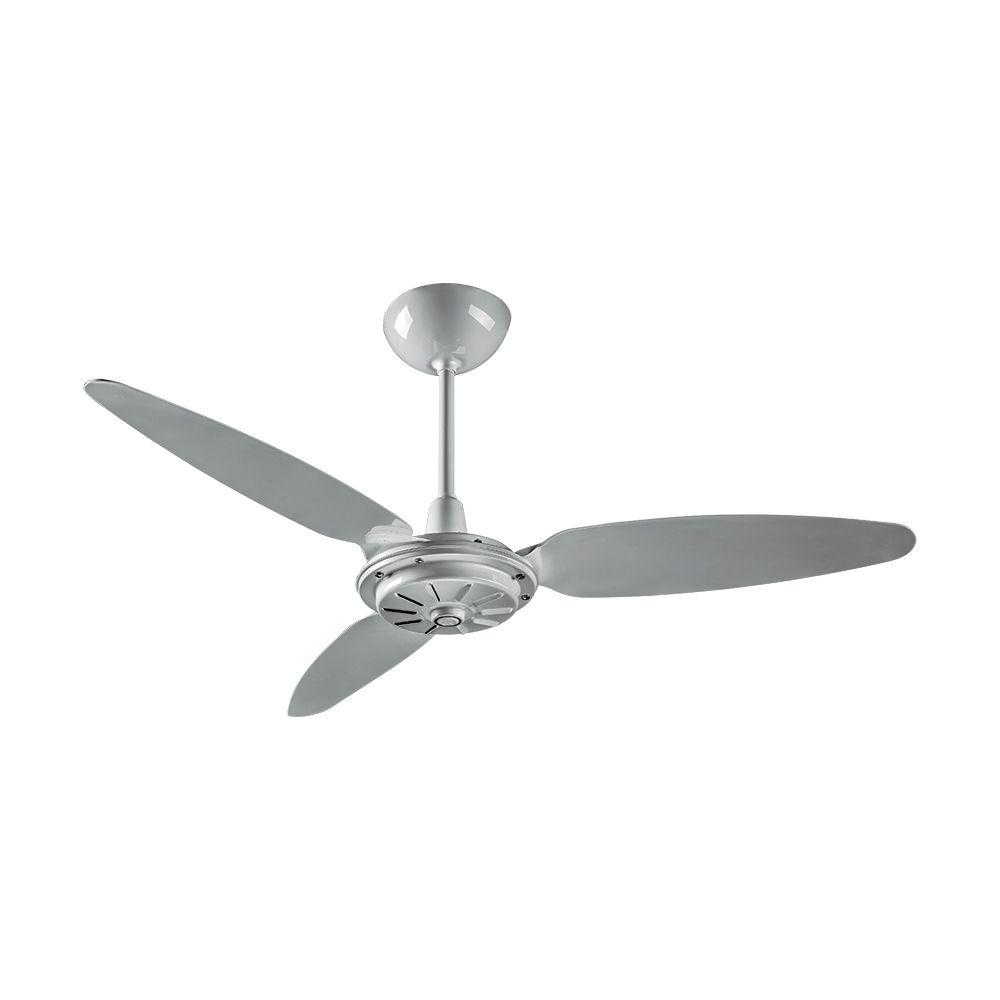 Ventilador Teto Comercial Cinza/Preto 127v - Ventisol