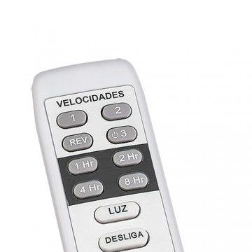 Ventilador Vertice Branco 3 Pás com Controle - Ventisol