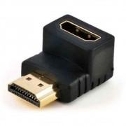 Adaptador HDMI 90 Graus Macho Femea