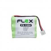 Bateria Para Telefone Sem Fio MOD.  FLEX  FX-120U
