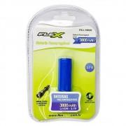 Bateria Recarregável Flex para Lanterna Tática 3.7v 3800mah Fx-L18650