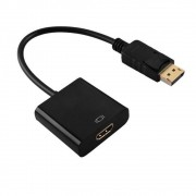 Cabo Adaptador DisplayPort(Macho) x HDMI(Fêmea)