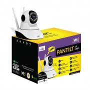 CAMERA INFRA CFTV PANTILT WIFI SD