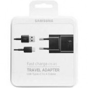 CARREGADOR SAMSUNG FAST CHARGE 15W TYPE C
