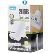 KIT CARREGADOR 2 USB KT626