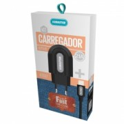 KIT CARREGADOR CABO TYPE-C 2.1A KT637