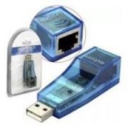 PLACA DE REDE EXTERNA USB RJ 45